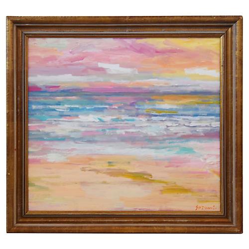 Impressionist Seascape by Juan Guzman