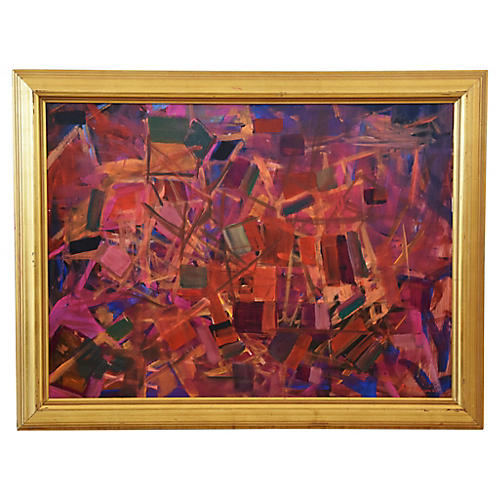 Vibrant Colorful Abstract by Juan Guzman