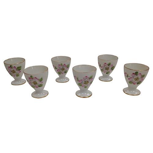 Bing & Grøndahl Egg Cups, S/6