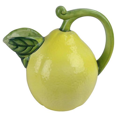 Lemon Mold Pitcher