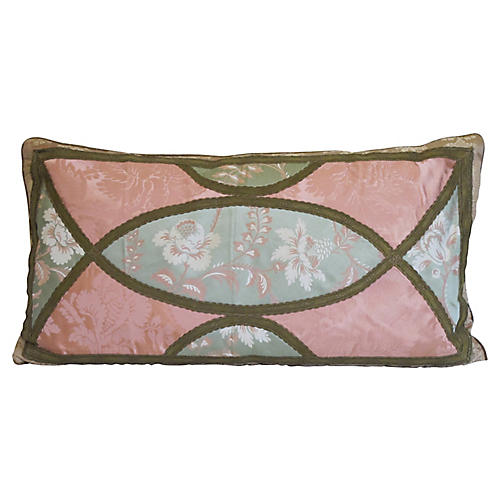 Silk Damask Pillow