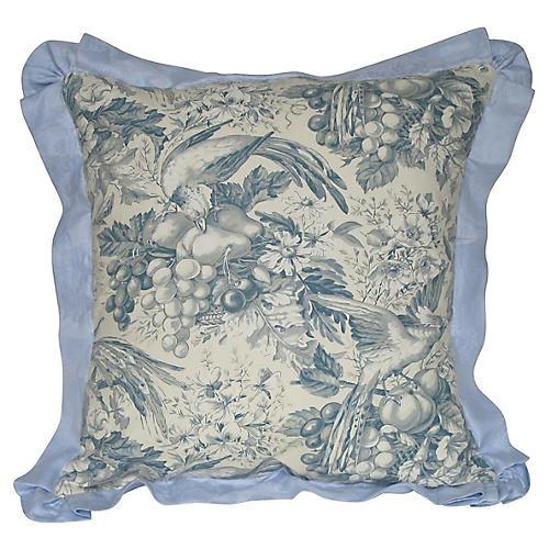 Vintage Toile Pillow