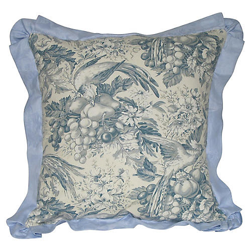 Vintage Toile Pillow