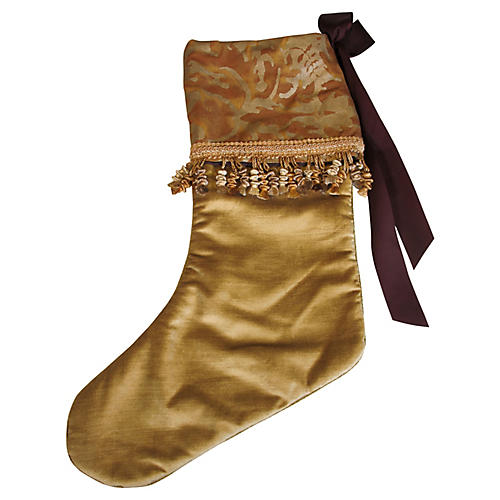 Fortuny Holiday Stocking