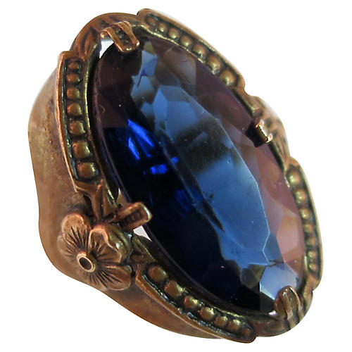 e41eedd8a19 1880s Victorian Glass Ring