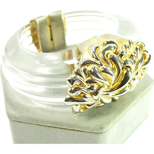 1980s Inna Cytrine Paris Lucite Bracelet