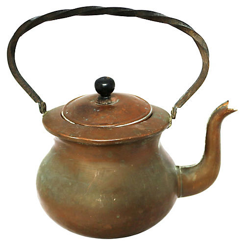 Dutch Copper Teakettle