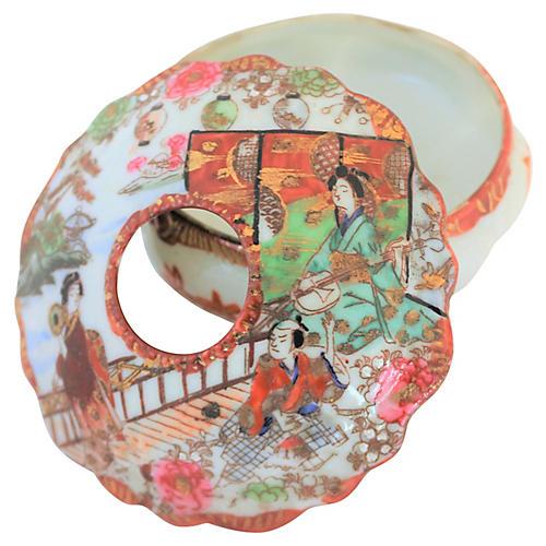 Hand-Painted Imari Catchall