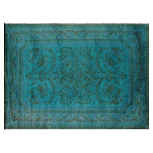 "Overdyed Karastan Carpet, 11'7"" x 8'2"""