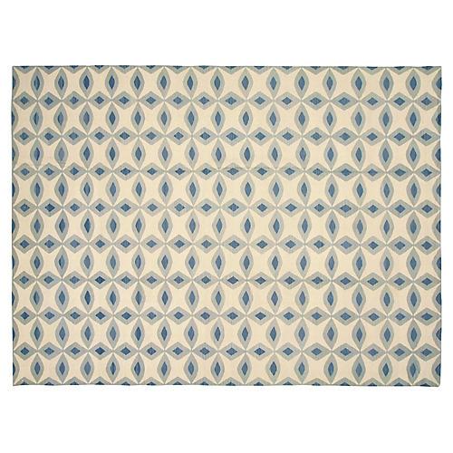 "Egyptian Kilim Carpet, 9'10"" x 13'3"""
