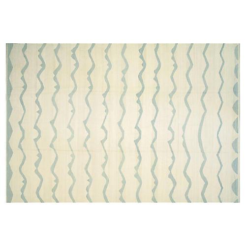 "Egyptian Kilim Carpet, 9'8"" x 13'11"""