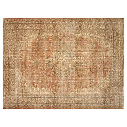 "Persian Tabriz Carpet, 9'5"" x 12'9"""