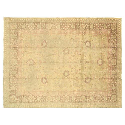 "Anatolian Oushak Carpet, 9'9"" x 13'"