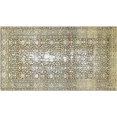 1920s Persian Malayer Carpet, 7' x 13'