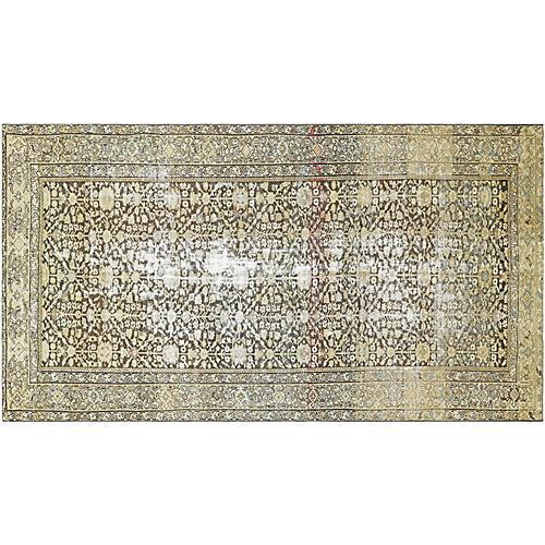 1920s Persian Malayer Carpet, 7' x 13'