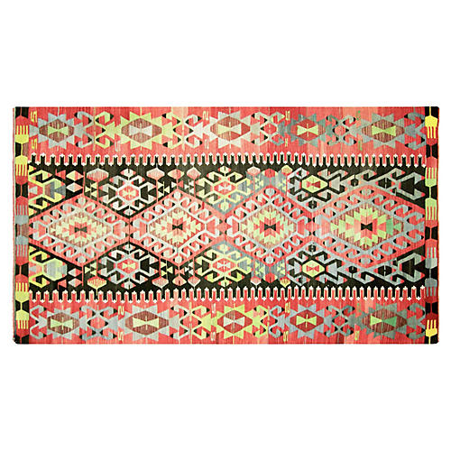 "Turkish Kilim, 5'11"" x 11'2"""