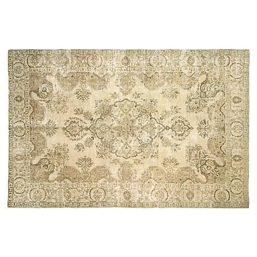 "1940s Persian Tabriz Carpet, 6'8"" x 10'4"