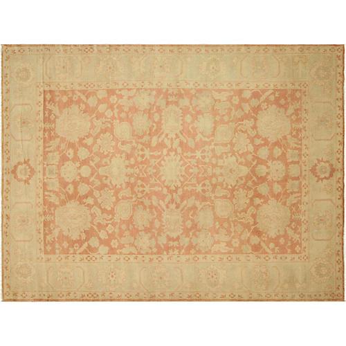 "Sultanabad Carpet, 8'9"" x 12'3"""