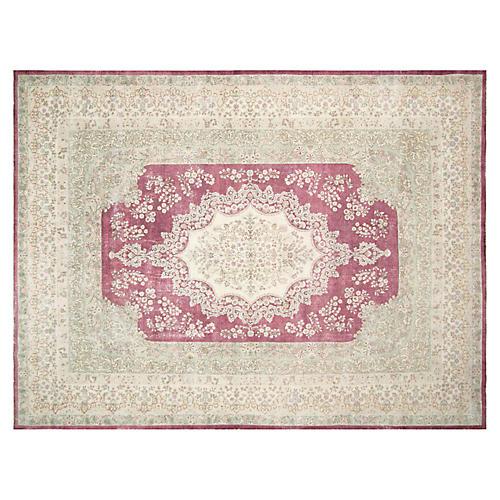 """Persian Kerman Carpet, 8'11"""" x 12'1"""""""