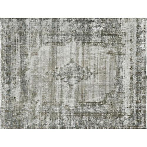 "Persian Overdyed Carpet, 9'8"" x 12'6"""