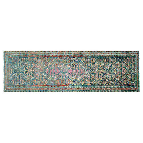 "1920s Persian Melayer Runner, 3'6""x12'4"""