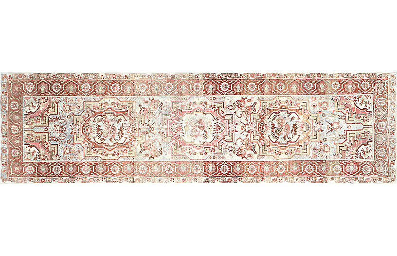 1920s Persian Malayer Runner, 3'7
