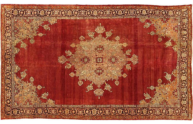 Antique Turkish Konya Carpet, 9' x 14'9