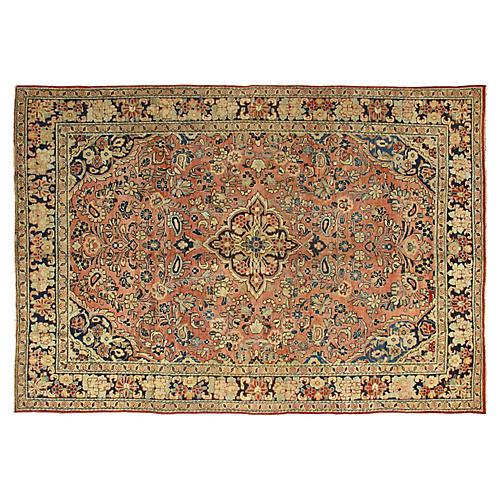 """Antique Persian Mahal Rug, 6'10"""" x 10'"""