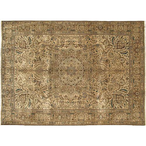 Persian Tabriz Rug, 8' x 11'2