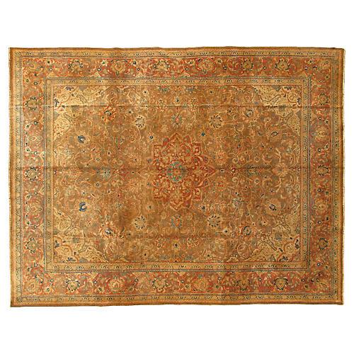 """Antique Persian Mahal Rug, 9'9"""" x 12'9"""""""