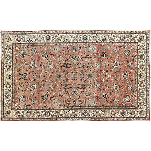 "Persian Tabriz Carpet, 9'9"" x 16'"
