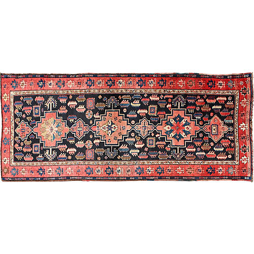 "Antique Karabagh Rug, 3'6"" x 8'9"""