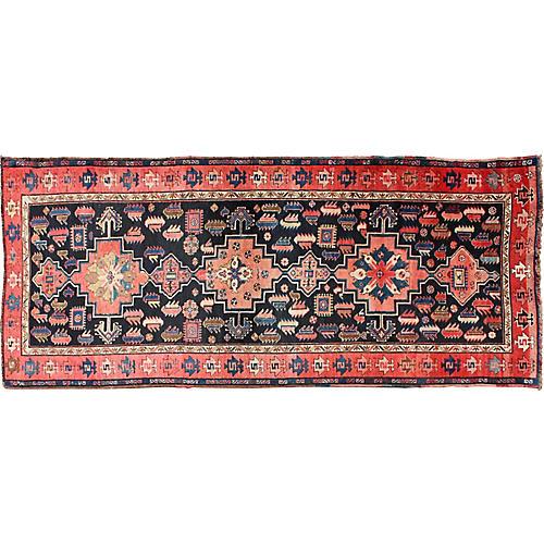 """Antique Caucassian Rug, 3'6"""" x 8'9"""""""