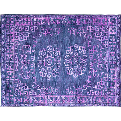 Purple Khotan Rug, 8' x 10'