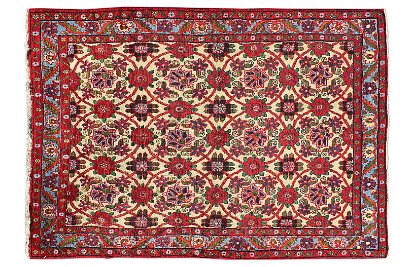 Persian Bijar Rug, 3'5