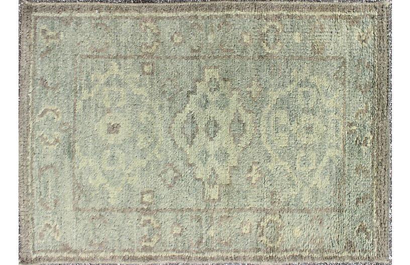 Indian Oushak Rug, 2' x 3'