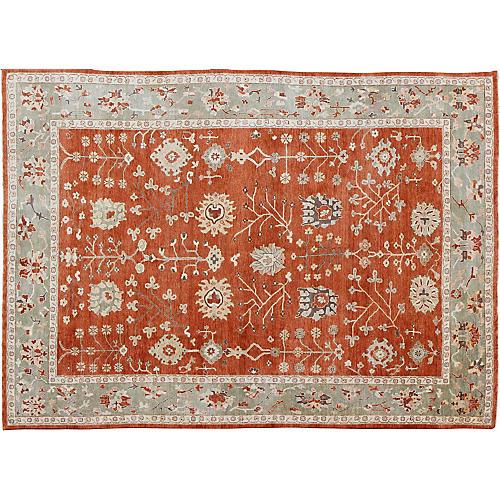 """Oushak Carpet, 10' x 13'10"""""""