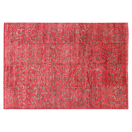 Modern Red Carpet, 10' x 14'