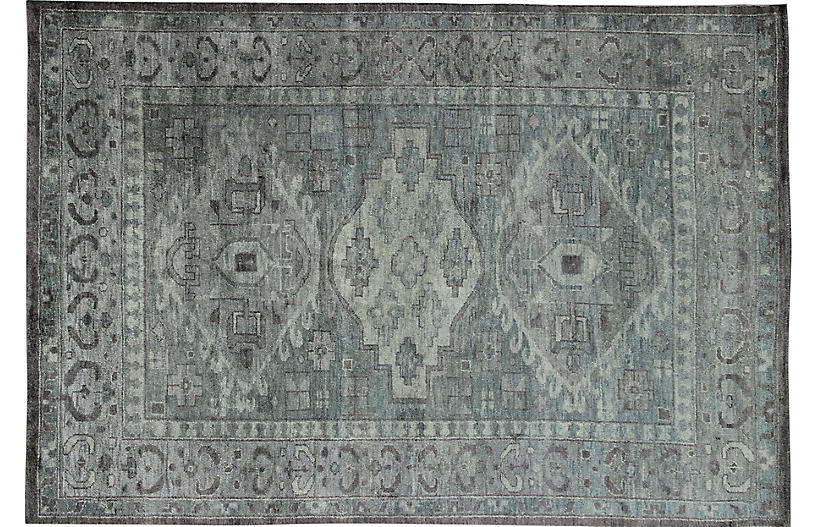 Khotan Carpet, 9'6