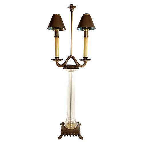 Double Candlestick Table Lamp