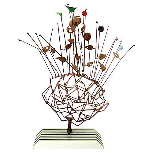 Midcentury Wire Sculpture