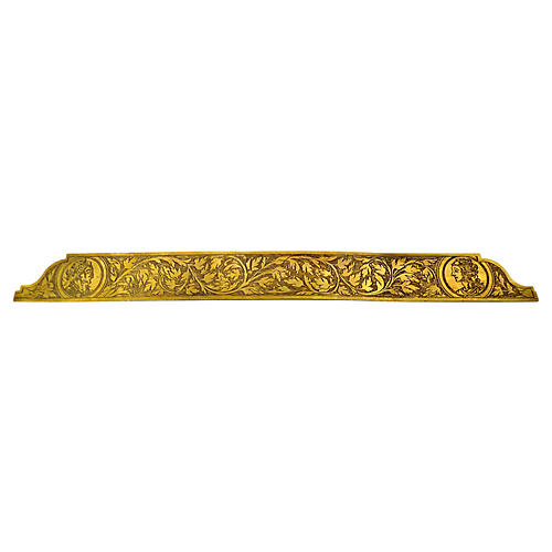 Antique Engraved Brass Ruler