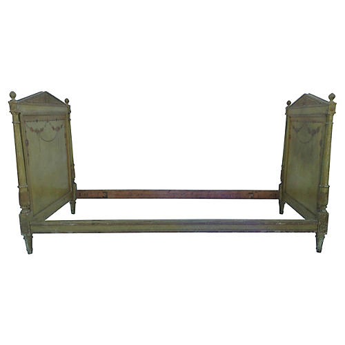 Hand-Painted Daybed
