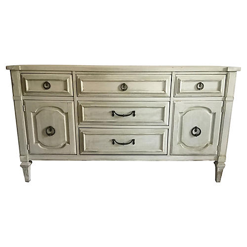 Hand Painted Buffet