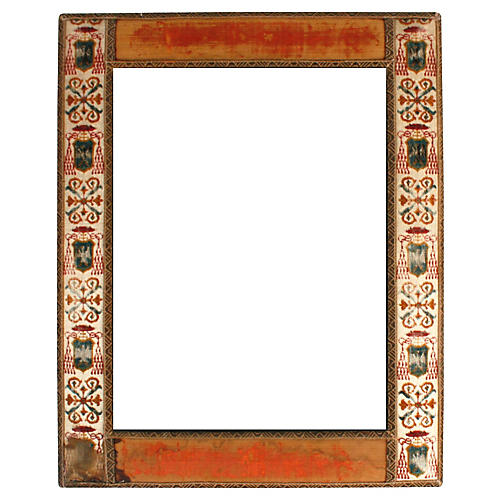 Antique English Coat-of-Arms Frame