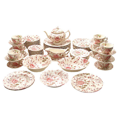 Johnson Bros. English China Service S/75
