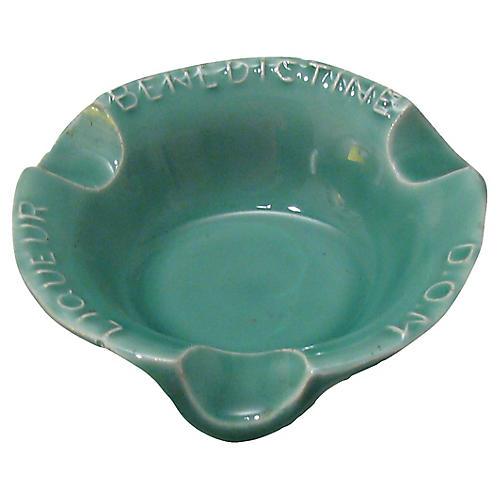 French Benedictine Ashtray, C.1950