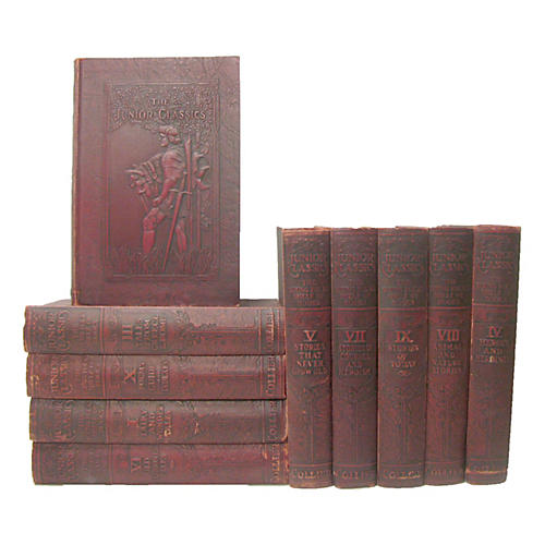 C.1920 Junior Classics, S/10