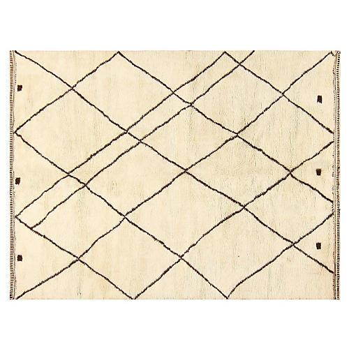 "Moroccan Rug, 8'3"" x 11'"