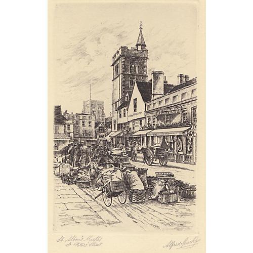 St. Albans Market, England